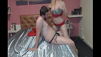 Horny Babe Gives Her BF A Sexy Lap Dance - 312camgirls.com FREE preview image