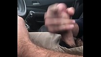 Stroking Big Cock for Curious Trucker