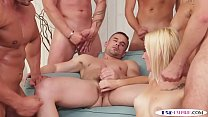 Bisex orgy studs groupfucking pussy and ass