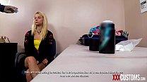 XXX CUSTOMS - Smuggling 19 yo Teen Riley Star G...