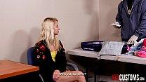 XXX CUSTOMS - Smuggling 19 yo Teen Riley Star Gets Punished - 69VClub.Com