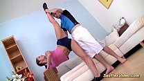 extreme flexi gymnastic sex with my stepsister