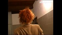 Cute redhead milf banged by colleague