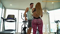 Image: Venezuelan Big Booty Gold Digger Gets Fucked After A Workout