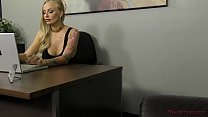 European Goddess Kayla Green Dominates Her Office Slave - 69VClub.Com