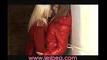 Lesbea Nightclub teens have hot sex
