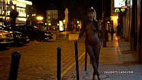 My mesh outfit in public at night Image