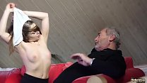 15551 Old Young Porn Little Girl Fucked By Bald Grandpa in her wet perfect pussy preview