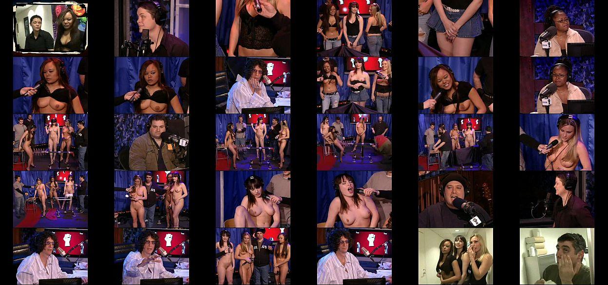 Howard Stern Interviews Hot Upskirt