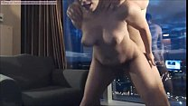 Hot Mature Couple Fucking in Hotel Window pornhub video