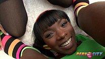 PervCity Ana Foxxx and Yasmine DeLeon Interracial Blowsandwich