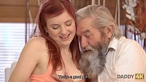 DADDY4K. Redhead loves the way BF and his old d...