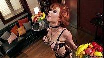 Redhead MILF housewife fucks bbc