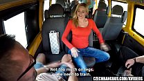 Married Busty MILF GangBanged in Bus thumbnail