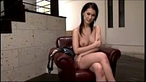 Hot Girl Having Orgasm While Masturbating With Toys In The Armchair thumbnail