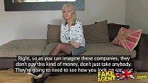 FakeAgentUK Mature MILF is hungry for pornstars cocks Image