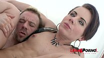 Sexy slut Sasha Zima double anal training (first DAP) SZ1305