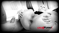 Blonde Sluts Katie Rose & Nikky Dream fuck each other with dildos & get DP'ed SZ794 thumbnail