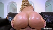 Blonde MILF with huge tits and fat ass gets fucked