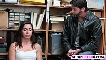Teen shoplifter gets touched everywhere Vorschaubild