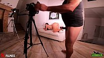 Behind the scenes of the young girl asking for hair - Pamela Pantera