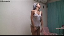 Japanese babe MIRANO's private dress up video