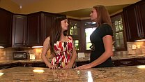 Sexy lady lover Taylor Vixen and Elexis Monroe undress and suck each other's pussies on the kitchen counter tumblr xxx video