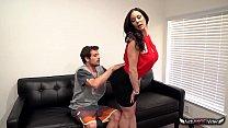 Busty Mom Kendra Lust Takes A Fat Pecker's Thumb