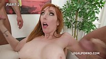 Loan Sharks #2! Lauren Phillips enjoys herself, Anal Gangbang with Balls Deep Anal, Gapes, DAP, Facial GIO984