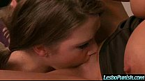 Lesbian Punishing Sex Tape With Use Of Dildos Sex Toys  movie-19