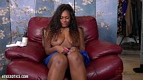 Voluptuous Skyy Dreams is hot and bothered