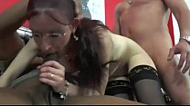 18983 A very naughty milf brunette France preview