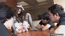Asian boys order juicy from a provocative waitress pornhub video