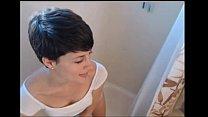 dirty short hai r girl in the shower show on w hower show on webcam s333 tk