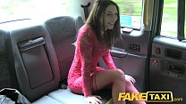 11734 Fake Taxi Hot teen in red dress and stockings preview