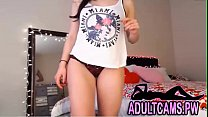 Lingerie Babe Strips and Plays her Pussy and Ass preview image