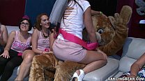 Bachelorette Party Goes Crazy For the Bear! (db...