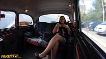 Fake Taxi Tattoo teen Jennifer Mendez fucked hard by cabbie image