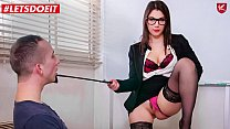 LETSDOEIT - Big Ass MILF Teacher Valentina Nappi Gets Anal From School Principal And A Naughty Student