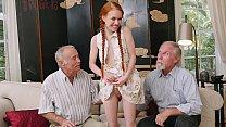 BLUE PILL MEN - Old Men Meet Petite Redhead Tee...