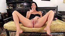 Wicked czech teenie opens up her narrow pussy to the special