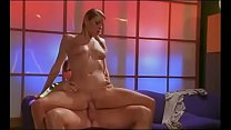 Well shaped blonde beauty loves to be fucked in doggy style preview image