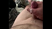 POV male masturbstion