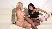 Lexidona - Pussy licking fun for Lexi Dona with big boobed blonde Angel Wicky