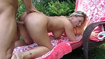 Dirty whore Devon Lee loves getting her pussy pounded in some outdoor action