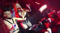 Sabrina Sabrok Pacto con el Diablo espectaculo en vivo ritual satanico