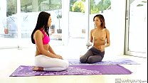 12486 Alina Li Adriana Chechik naked yoga preview