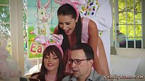 Daddy house and mother playfellow's daughter tape gagged first time Vorschaubild