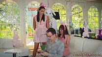 6006 Daddy house and mother playfellow's daughter tape gagged first time preview