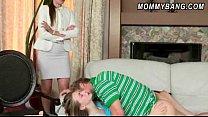 Strict stepmom Samantha Ryan and teen Ava Hardy...
